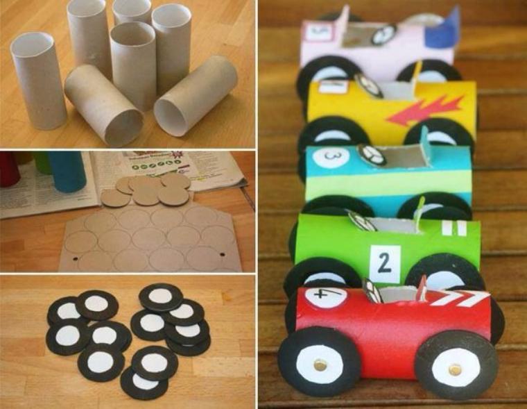 Avec le carton des papiers de rouleaux de toilette crochet animaux travaux manuels couture - Travaux manuels avec du carton ...