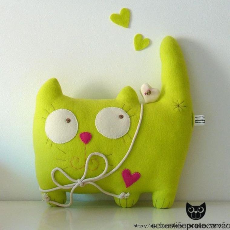 Réalises Un Chat En Tissu Modèle Facile Crochet Animaux