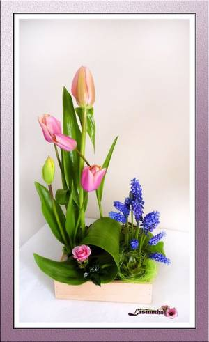 Lisianthus 39 s blog for Lisianthus art floral