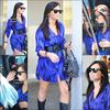 _ 30/05/10 : Demi qui arrive enfin chez elle à l'aéroport de LAX, sa tournée est donc maintenant terminée ! _