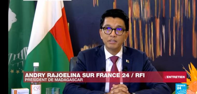 Covid-19 : Le président malgache est devenu le nouveau pourfendeur de l'occident