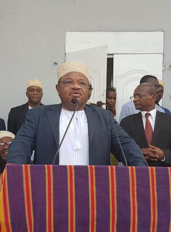 La démission du ministre des affaires extérieures ,m.Amine Soefou est confirmée