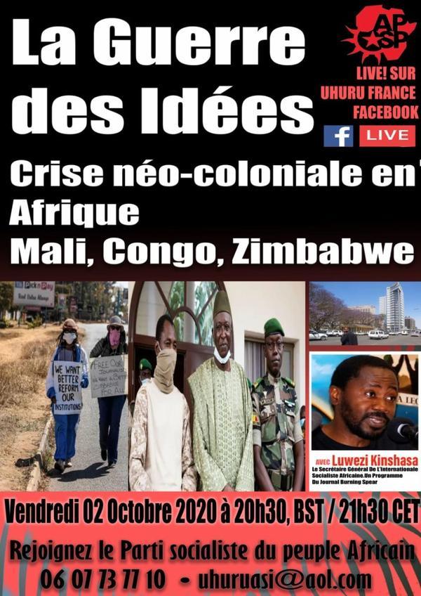 Crise du néocolonialisme avec le parti international socialiste africain