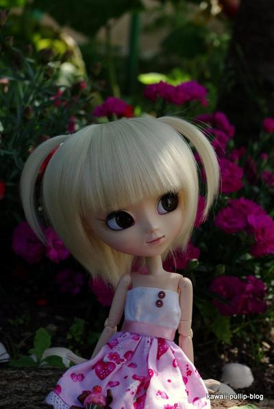 présentation de Rose, ma première pullip!
