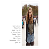 TAGS : Fiche Mannequin Frida Gustavsson Image StockholmStreetStyle