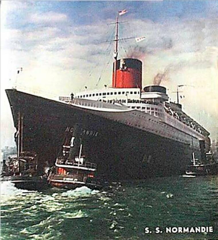 SS NORMANDIE - épilogue