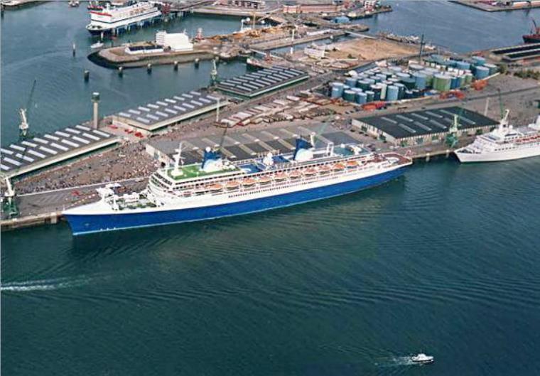 Septembre 1996 enfin le grand retour du paquebot FRANCE au Havre !!!