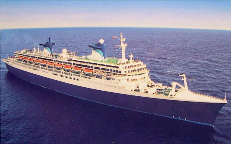 1996 SS NORWAY  NEW YORK - LE HAVRE