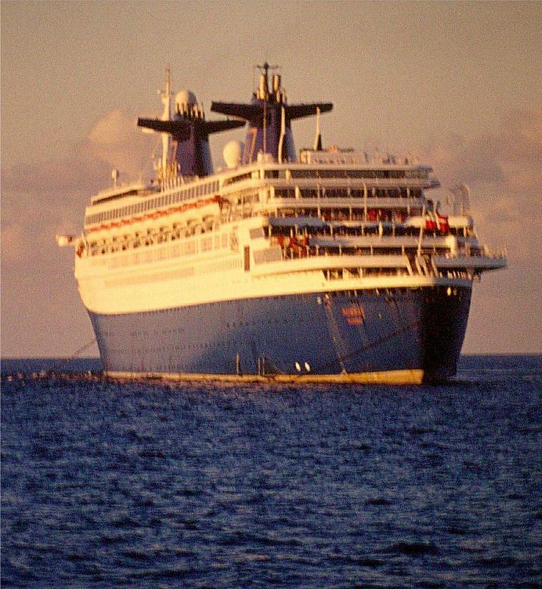 SS NORWAY Îles Bahamas Caraïbes