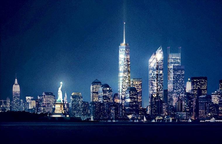 Freedom Tower la tour qui remplacera WTC à Manhattan