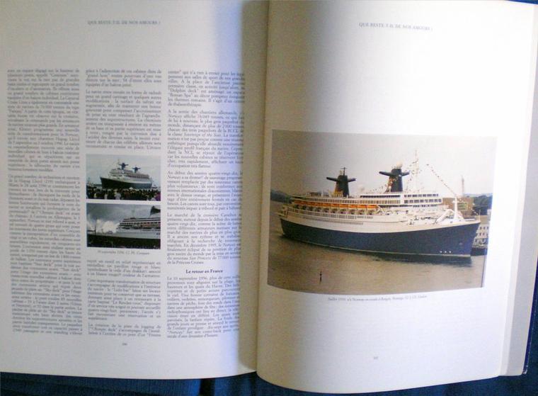 """303 n°64 et """"s/s Normandie, s/s France, s/s Norway"""" édité par 303 (3)"""