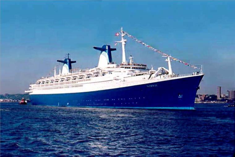 ss NORWAY 1980 - Escale inaugurale - New York mai 1980 (2)