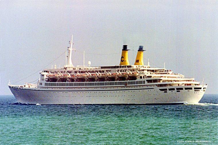 EUGENIO C - navire amiral de la compagnie Costa 1966 1996
