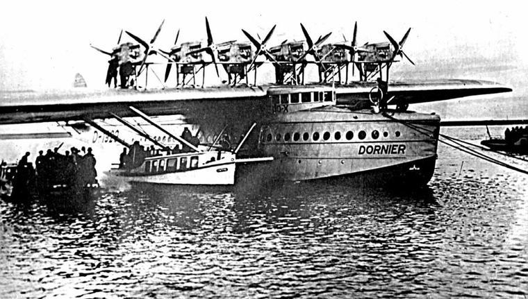 Un paquebot qui peut voler le DO X de 1929