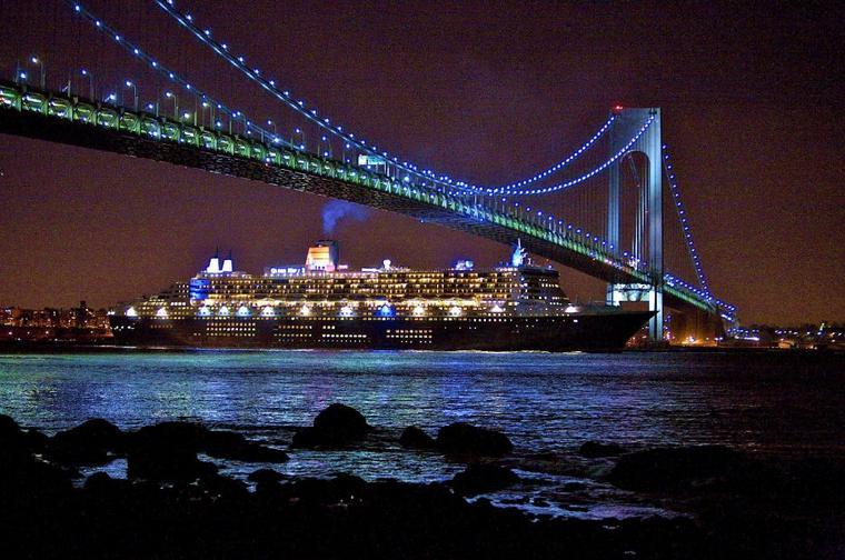 Noël à bord du Queen Mary 2