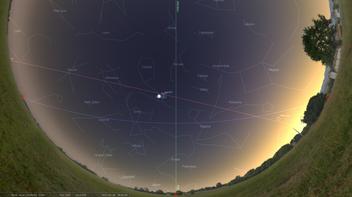 """""""Une CONJONCTION"""" en astronomie c'est quoi ?"""