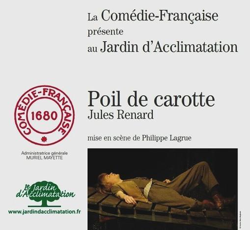""""""" Poil de carotte """" au Jardin d'acclimatation"""