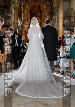 Royal Wedding Dress 2012 Of Princess Felipa Bayern