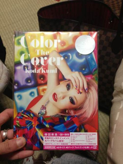 [FAN PHOTOS] Color The Cover - CD + DVD + Photobook