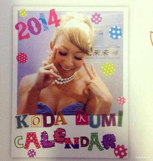 Calendrier Fanclub 2014