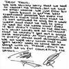 Lettre d'excuse ecrite par Tom Georg et Gustav