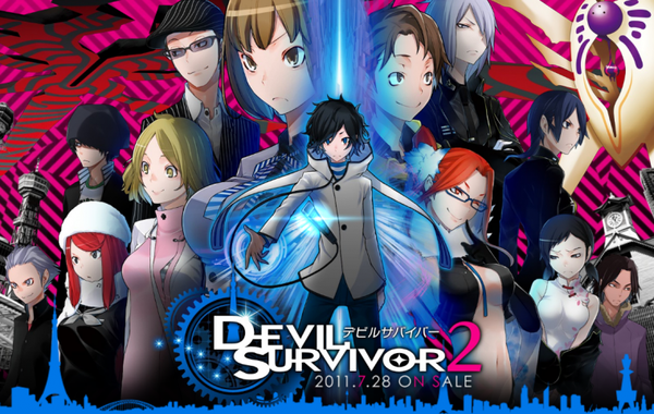 Anime — Devil Survivor 2, THE ANIMATION