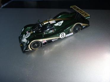 La Bentley est terminée