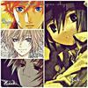 Fiche personnages secondaires :  Yuki Akitsuki , Akito Hayashi , Hideki Hatori, Ryo Yojima