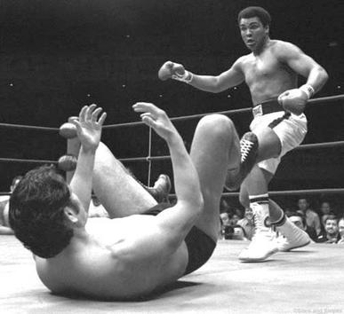 Muhammad Ali et Bruce Lee - La rencontre du siècle