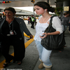 .   à New York Selena à été Apperçu à l'aéroport de New york  .