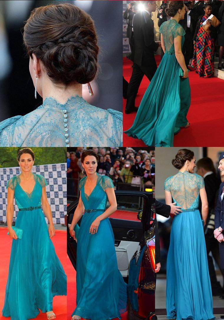 11 mai 2012 : Kate à la soirée de Gala Olympique.
