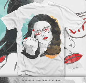 """Découvrez un T-shirt Kristen Stewart """"Fuck Off"""""""