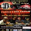 THRILLER NIGHT AU SAFARI NIGHT CLUB à NE SURTOUT PAS MANQUEZ