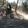Stan en 150cc Kaitham dans un virage !!! :)