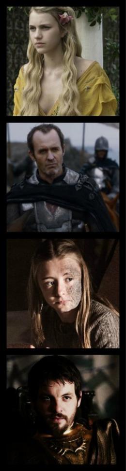 Fiche Personnage : La Famille Barathéon