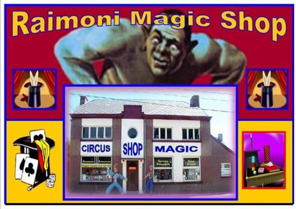 BELGIQUE  - Raimoni Magic Shop - Cité Magique