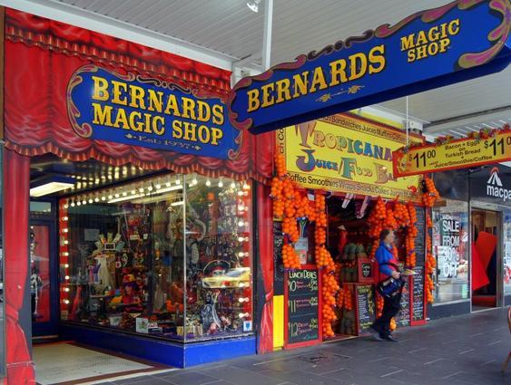AUSTRALIE - Bernard's Magic Shop