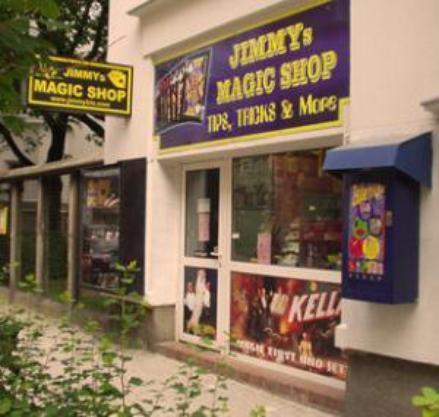 Autriche - Vienne - Jimmys Magic Shop