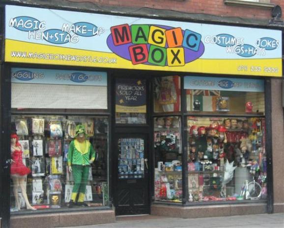 Angleterre - Magicbox
