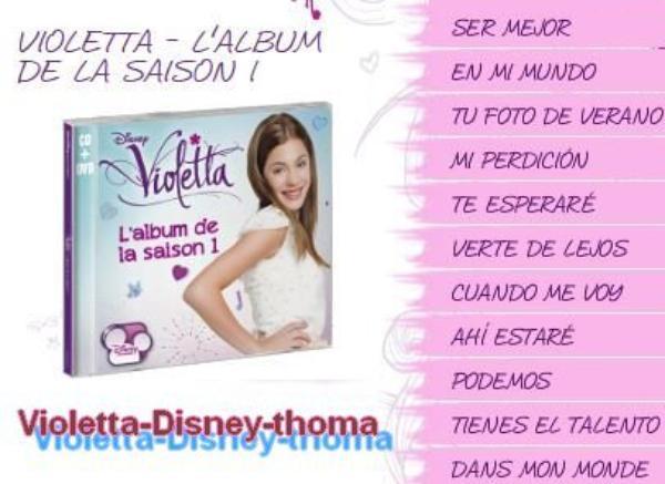 Violetta saison 1 blog de violetta disney thoma - Musique violetta saison 2 ...