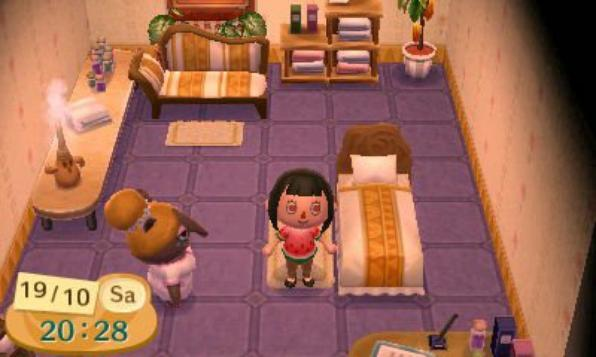 Le salon d tente ou institut du r ve my animal crossing - Animal crossing new leaf salon de detente ...