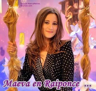 Maeva meline en raiponce ta source sur maeva meline - Princesse meline ...