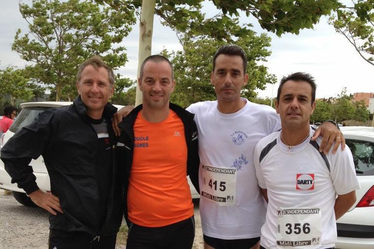 Course la Barberousse , Gruissan , 1 juillet 2012