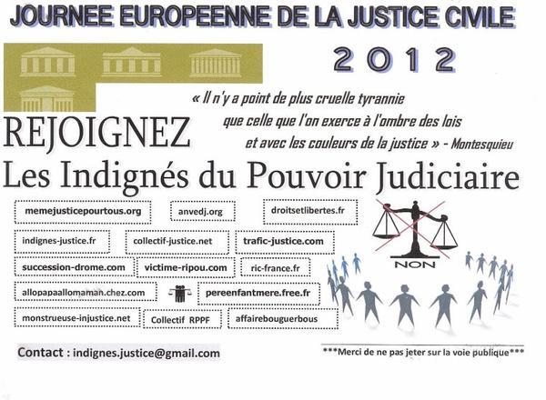 Les indignés de la justice  : Manif à Montpellier Place Comédie à 50 m du Poste de Police à Partir de 11 heures venez nombreux