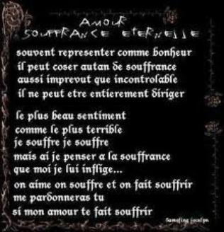 Amour Souffrance Eternelle Blog Poèmes Citations