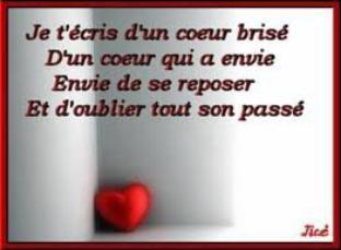Citation Coeur Brise Skyrock