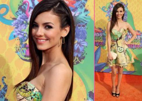 Victoria justice au Kids Choices Awards