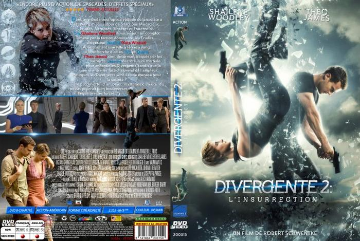"""Le DVD de """" Divergente 2: L'insurrection"""""""