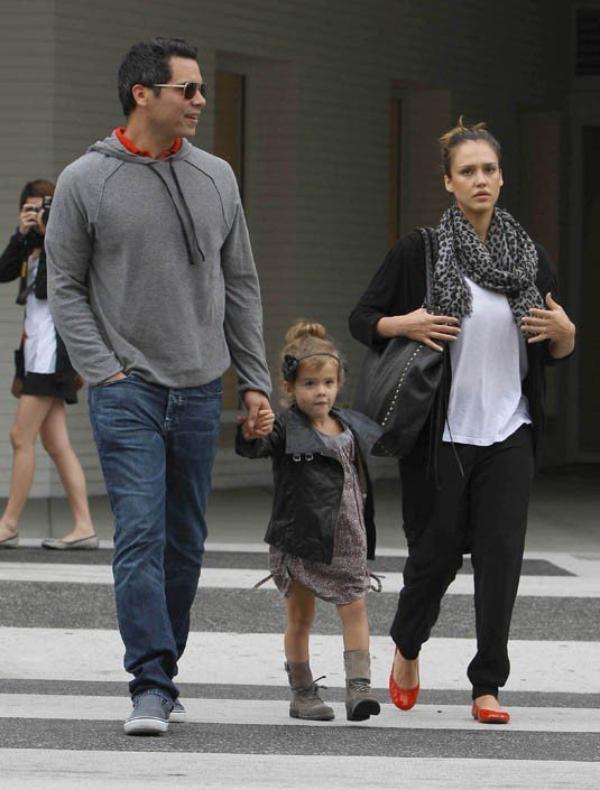 Jessica , Cash et Honor font une virée shopping a Los Angeles