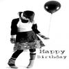 wish me a happy birthday  8-p